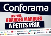 Code réduction valable sur le site conforama.fr
